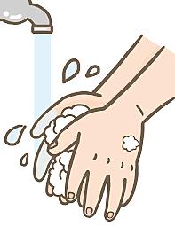コロナウイルス予防対策実施中
