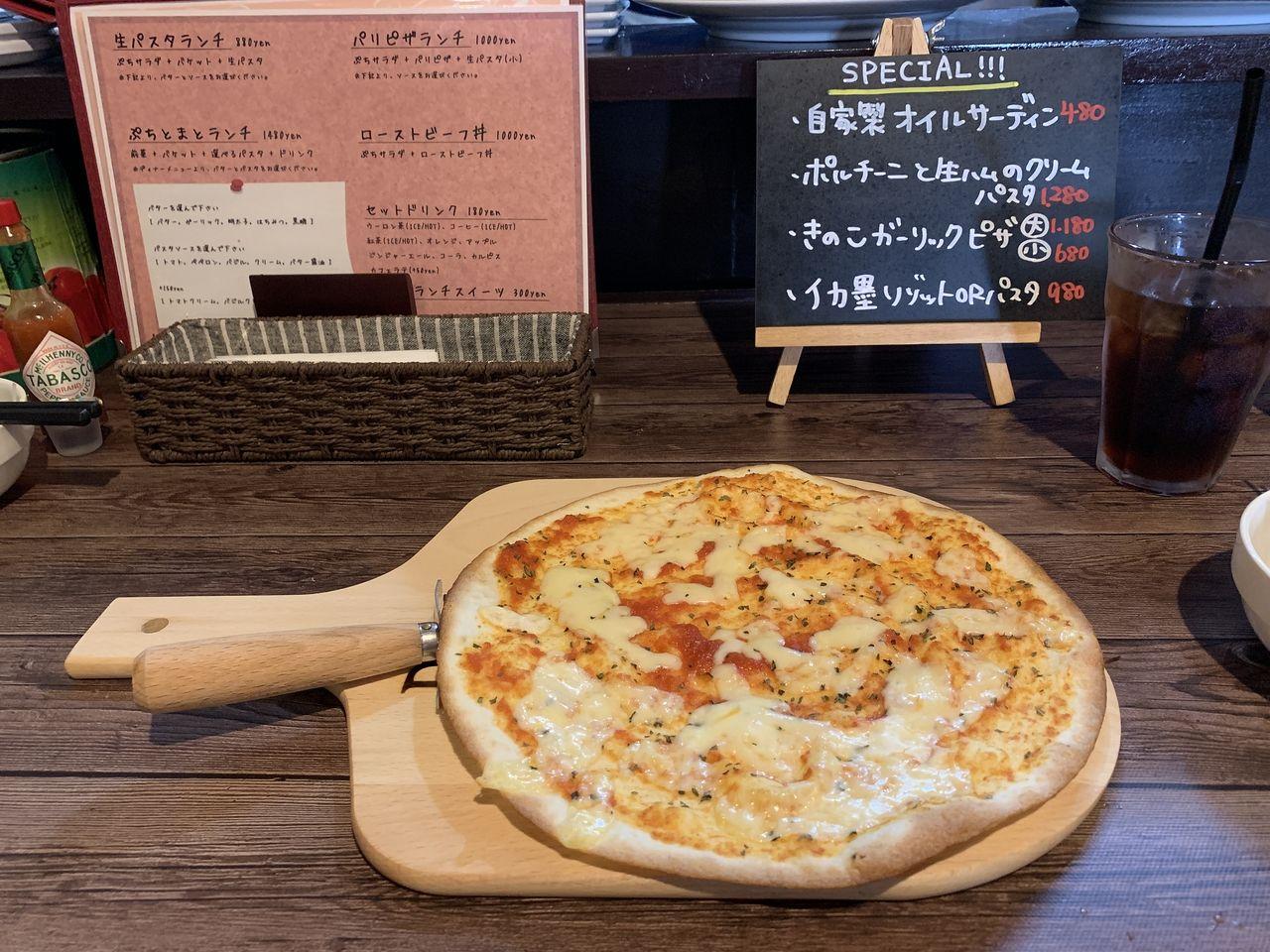 本格的なピザ!!