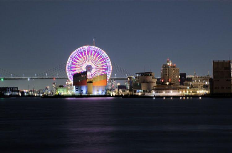 大阪ベイエリアの絶景の夜景が楽しめます!