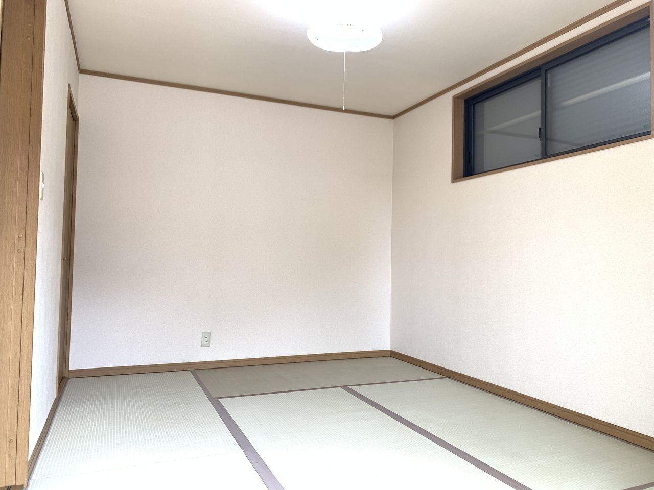 気持ちが癒される和室です。