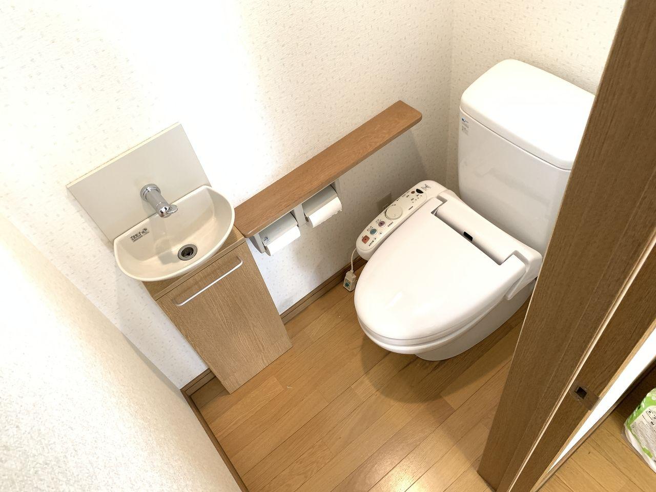 清潔感あふれるトイレです。