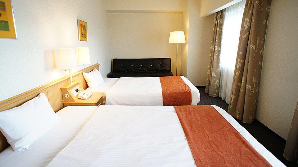 大阪ジョイテルホテルのハンディキャップのお部屋です。