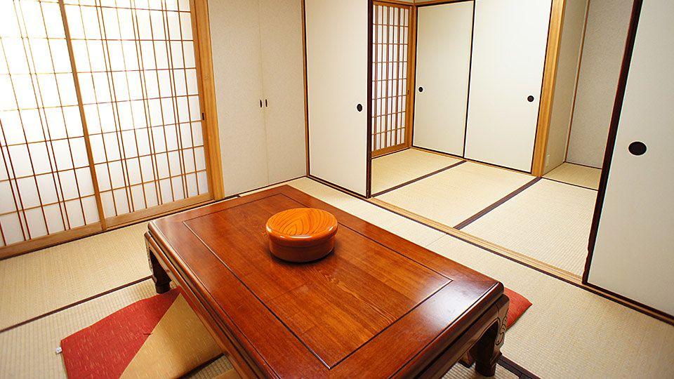 大阪ジョイテルホテルの和室のお部屋です。