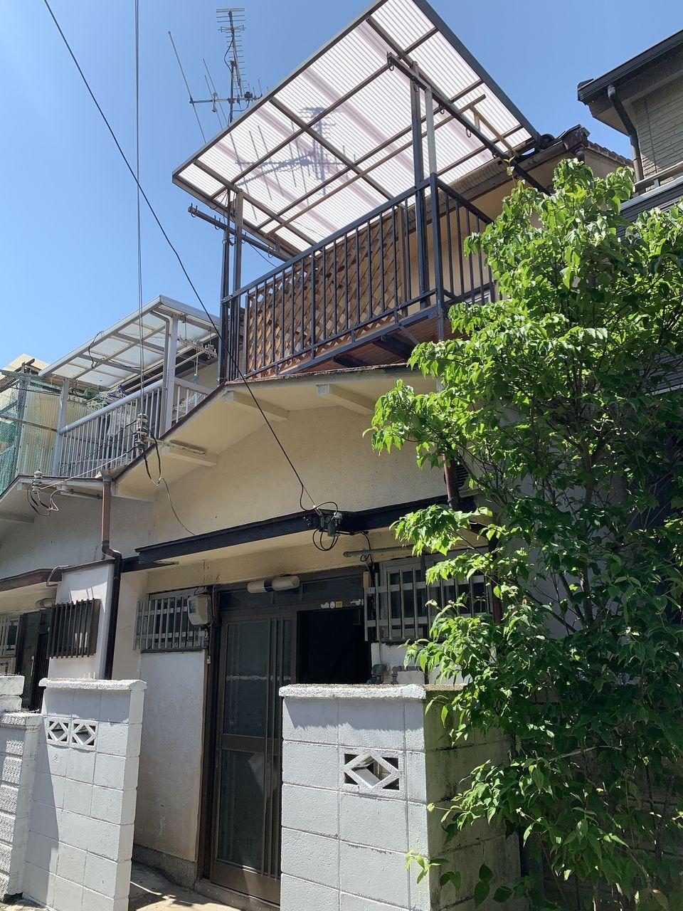八尾市志紀町の戸建賃貸物件の外観写真