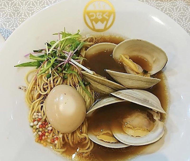 麺物語 つなぐ貝の出汁ラーメンの写真