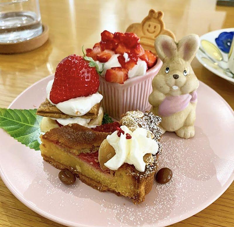 カフェ マメムギのケーキの写真