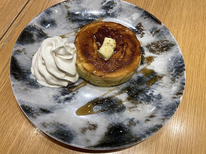 MARFA CAFEのパンケーキの写真