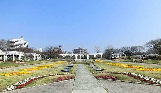住之江公園の風景写真