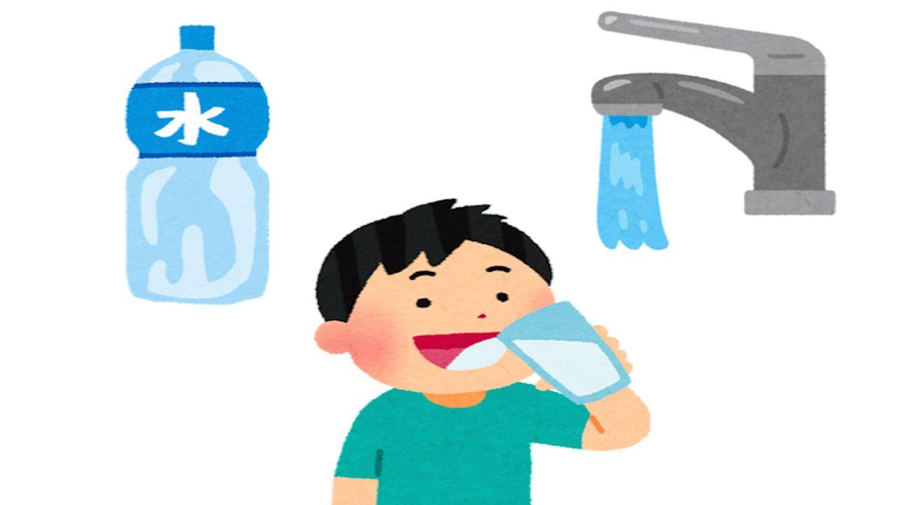 災害時の水の確保をお願いします!!