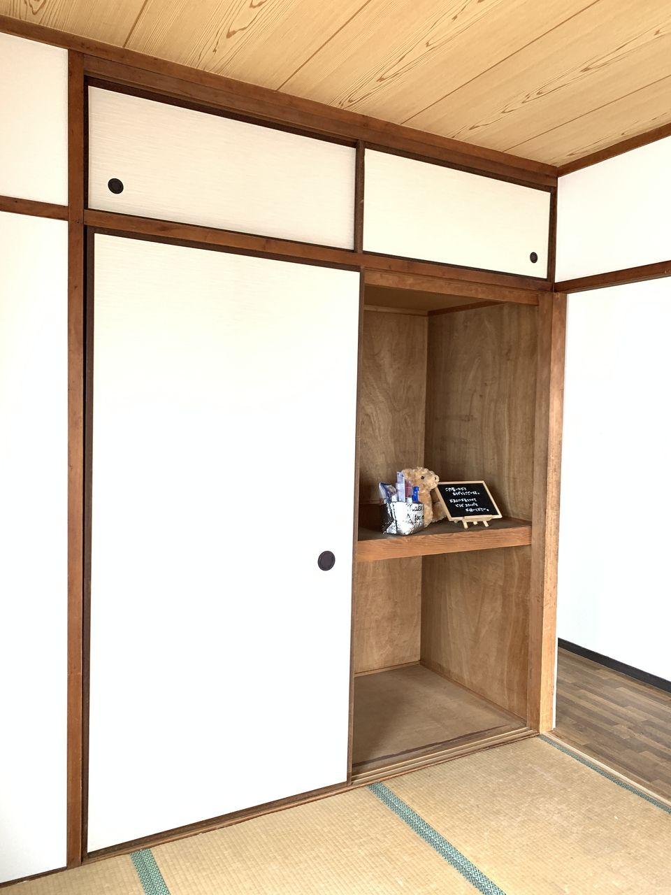 ハイツ富士401号室和室の押し入れ写真です