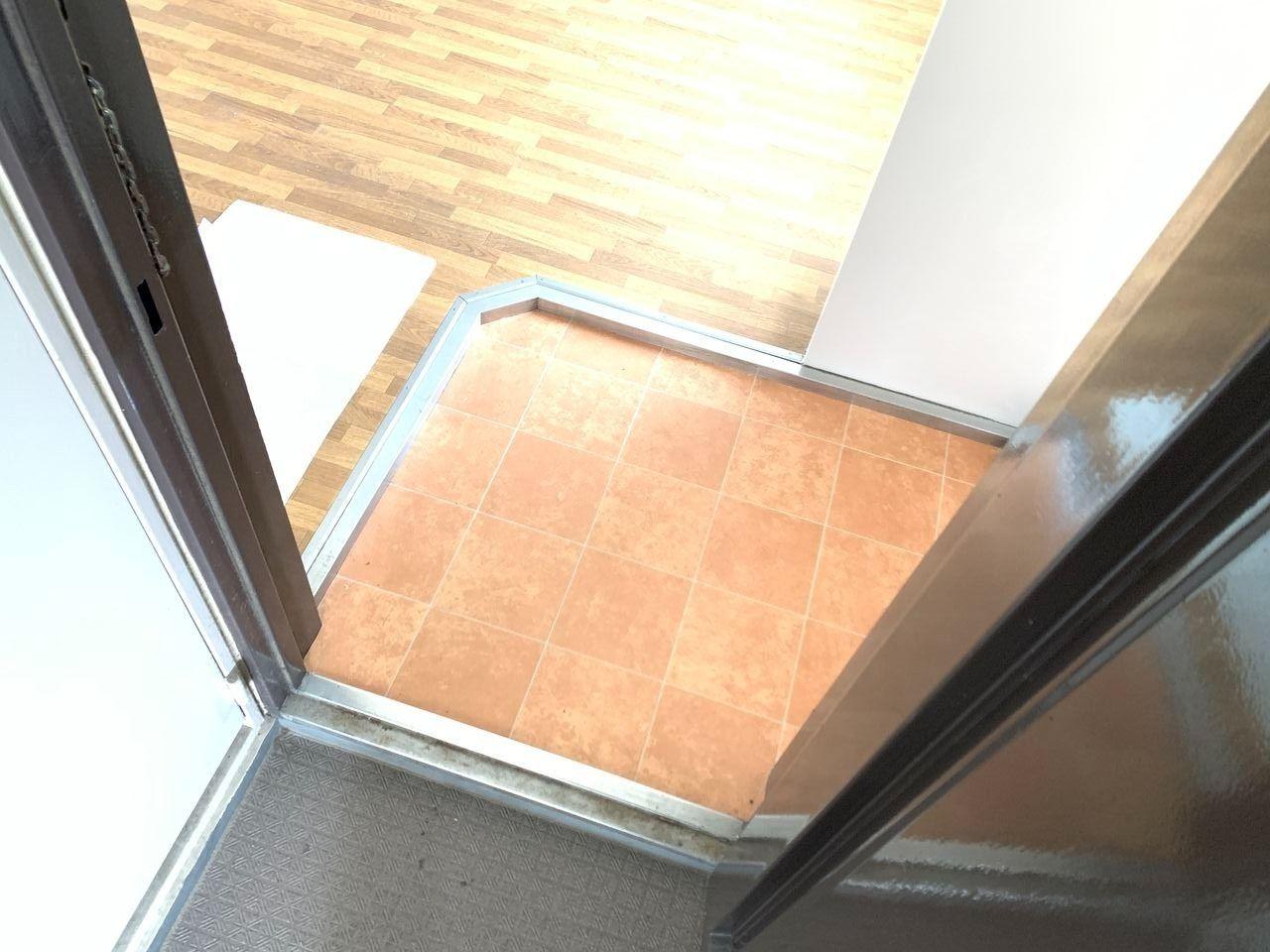 ハイツ富士401号室玄関の写真です