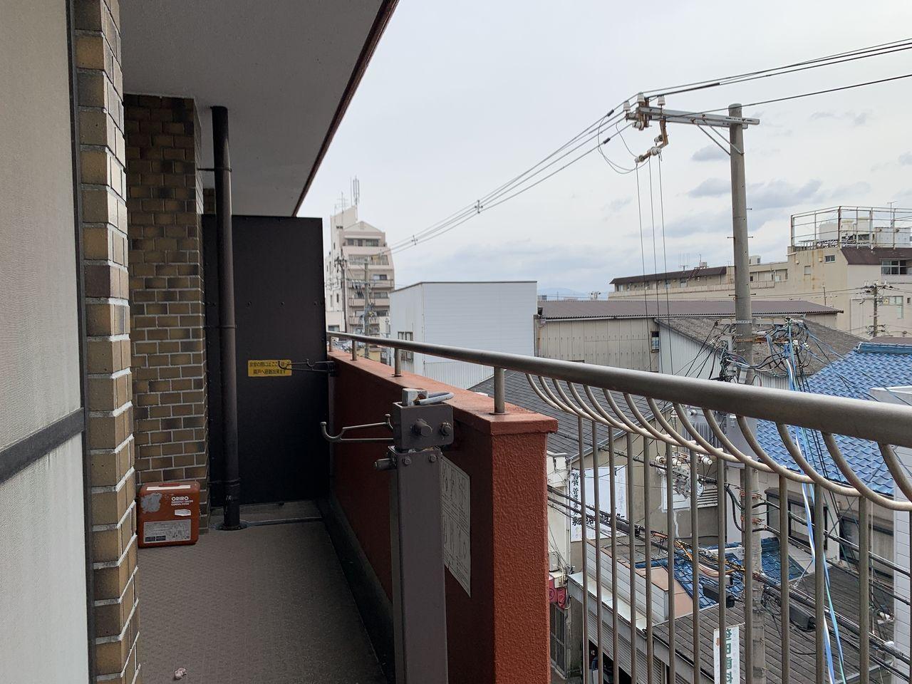 ハイツ富士401号室バルコニーの写真です