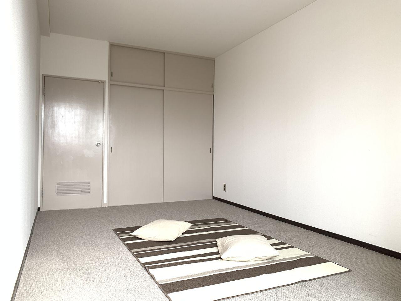 ハイツ富士401号室寝室の写真です