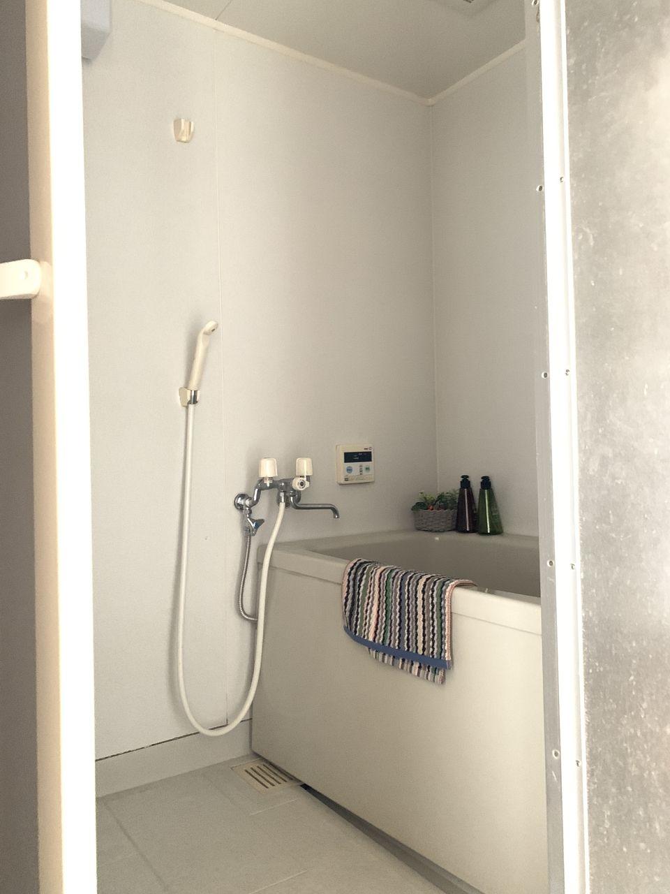 ハイツ富士401号室お風呂の写真です