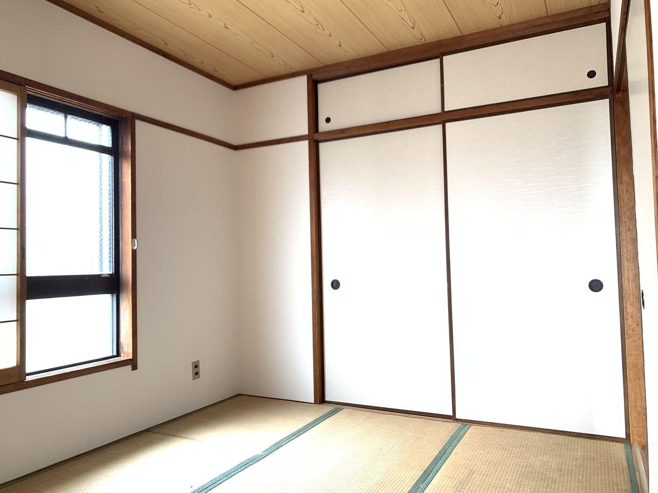 ハイツ富士401号室和室の写真です