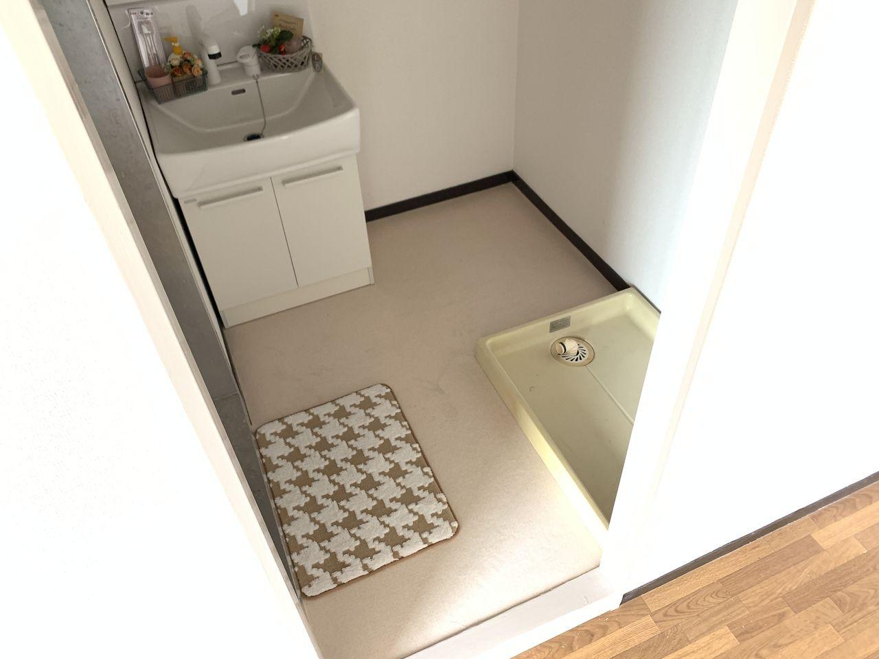 ハイツ富士401号室洗面所の写真です