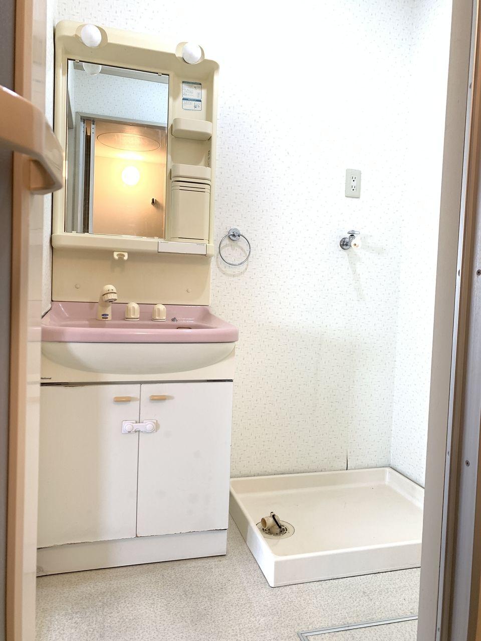 レナジア新深江洗面化粧台です