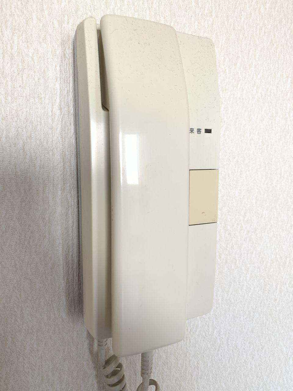 レナジア新深江インターフォンです。