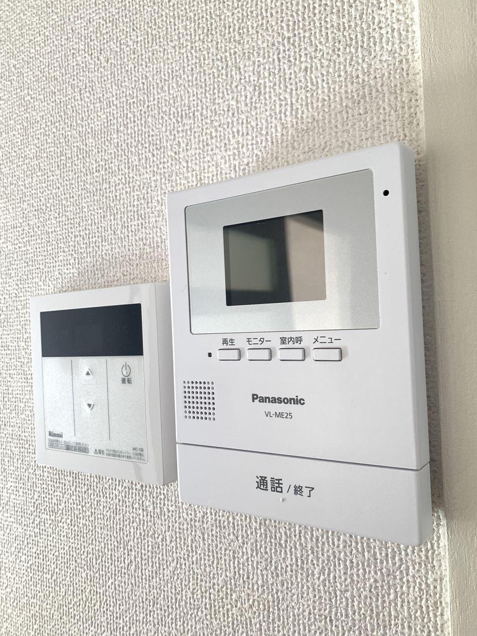 レナジア恵我之荘TVインターフォン