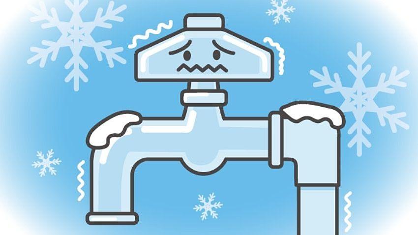 この時期水道の凍結には気を付けてください!!