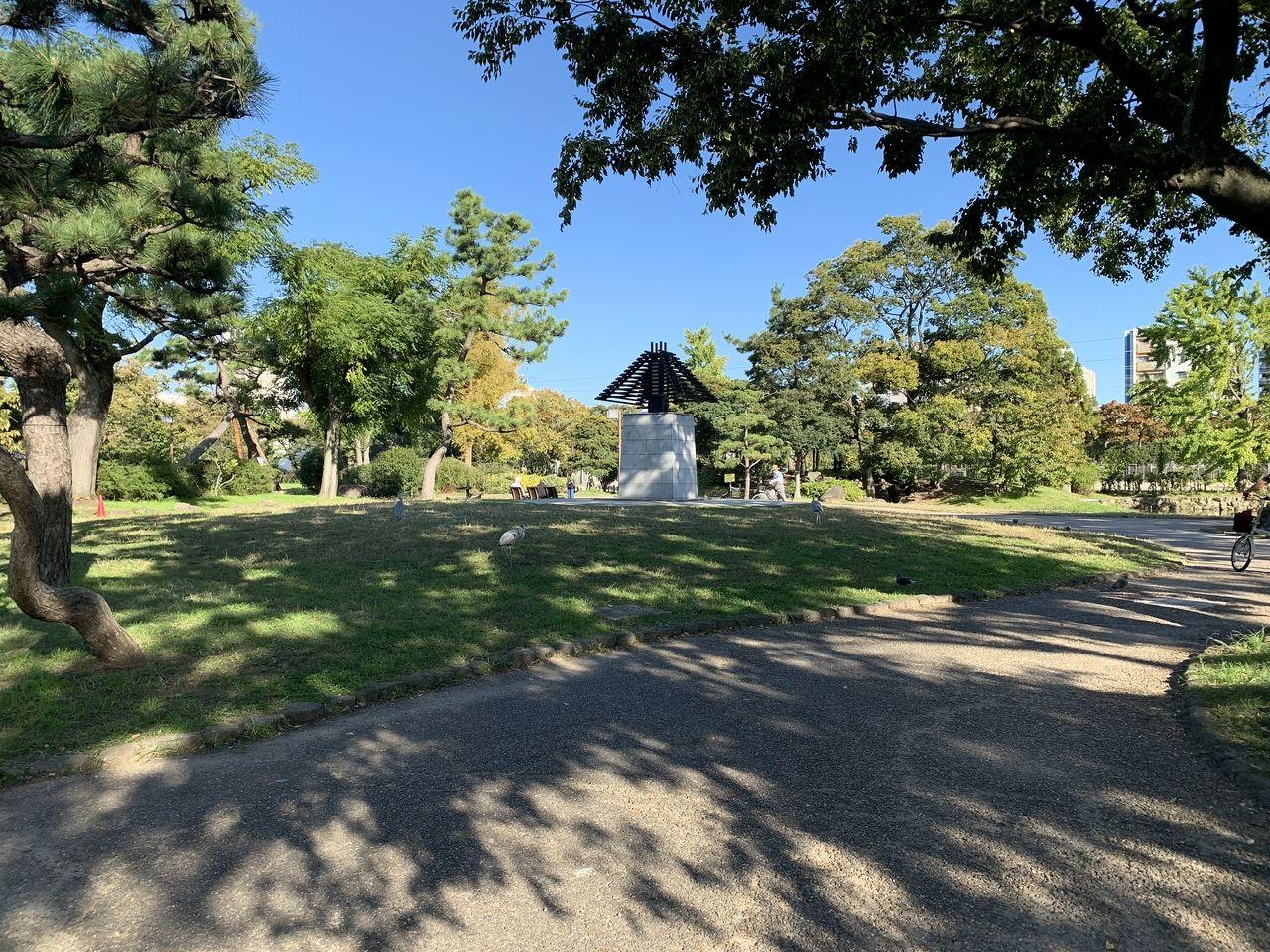 秋晴れの住吉公園