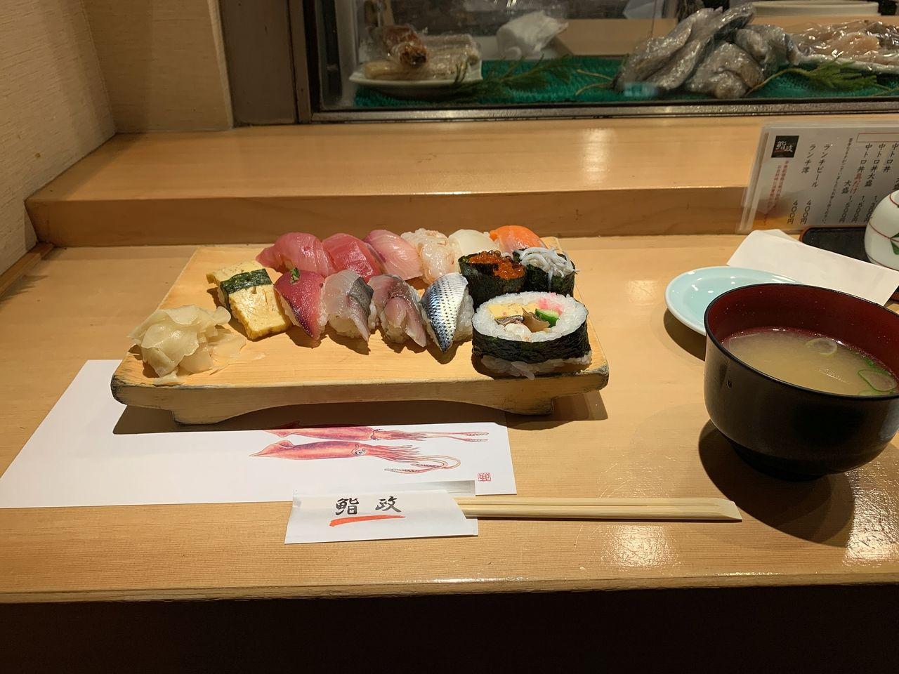 埼玉県大宮にある美味しすぎるお寿司屋さん!
