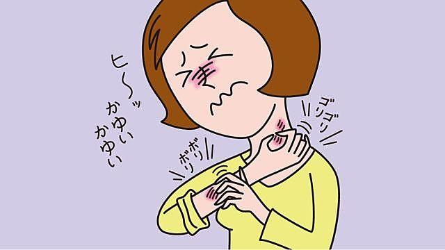 冬のお肌のトラブル!寒冷蕁麻疹!