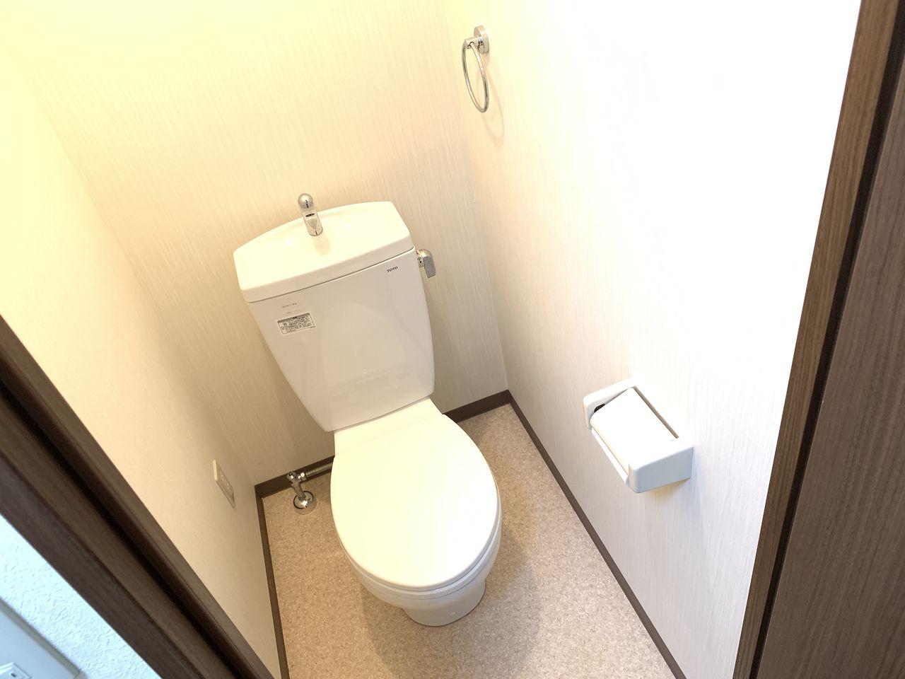 清潔感があるトイレ